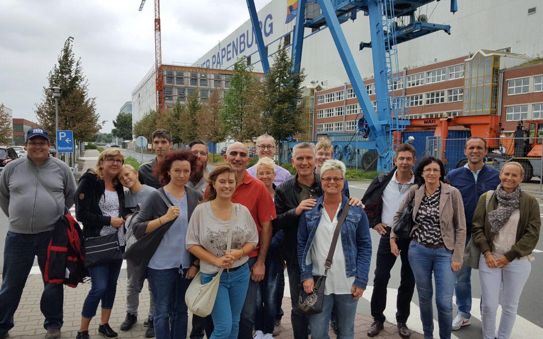 Werft-Besichtigung in Papenburg
