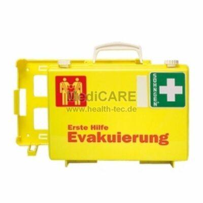 Söhngen Erste Hilfe Evakuierung Koffer leuchtgelb mit einem Rettungssitz KOMI