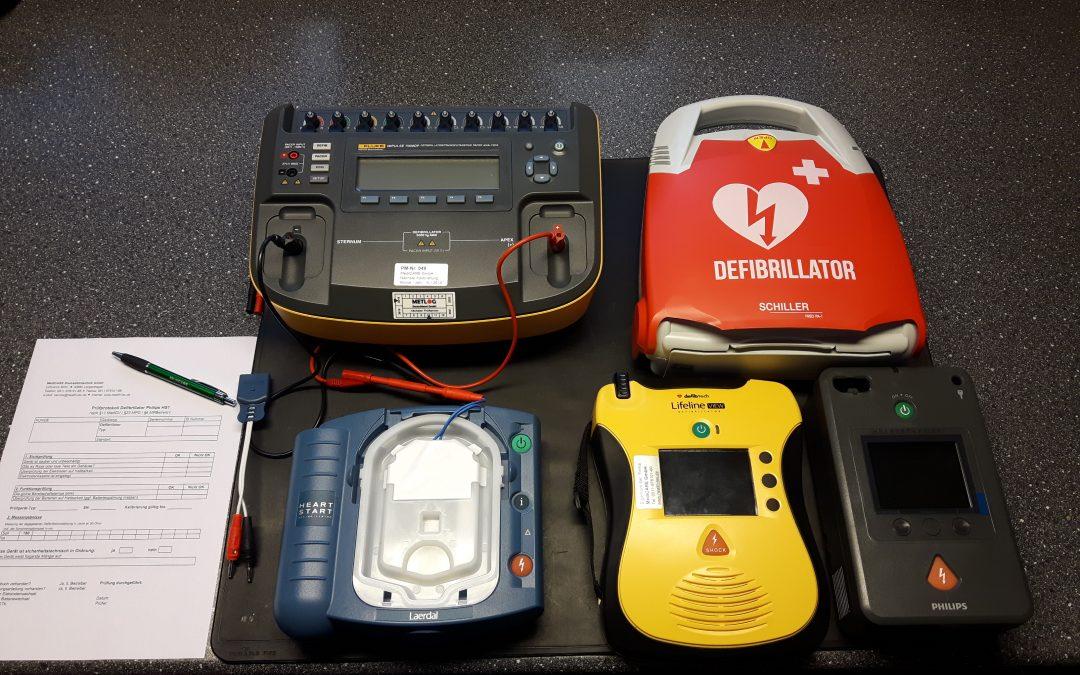 Hinweis für Betreiber von AED-Geräten