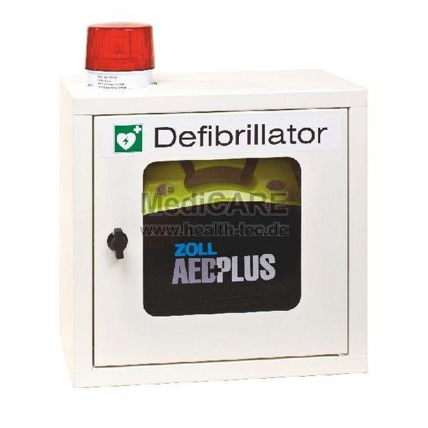 Pavoy Wandschrank für AED-Geräte mit Alarm und Leuchte