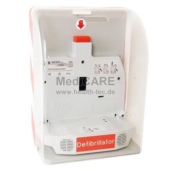 Primedic Safe Box mit Alarm Wandvitrine mit Magnetschloss
