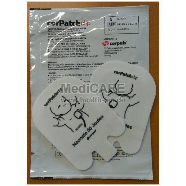 corPatchclip Neonate für 08/16 Kinder bis 12 kg/ VE=1 Paar