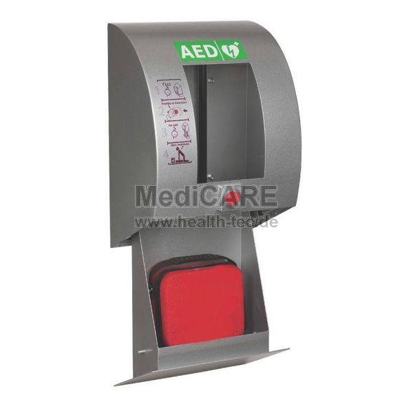 AED-Wandkasten Standard Aluminium