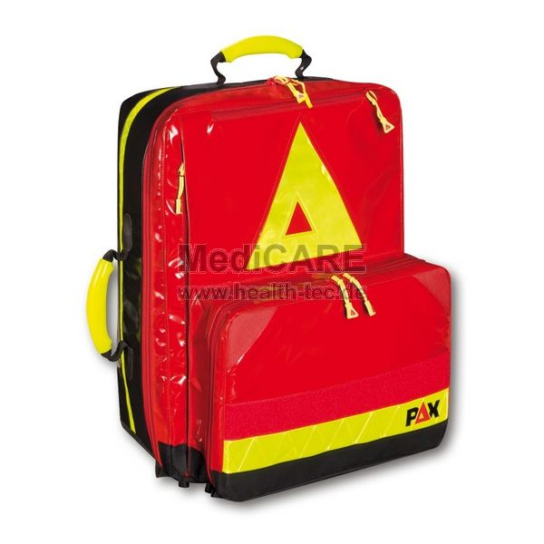 Notfallrucksack, Wasserkuppe L FT Material: PAX-Plan, Farbe: rot