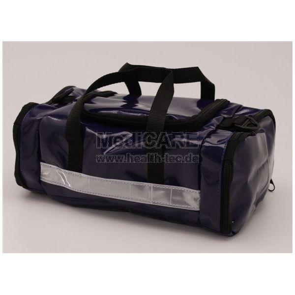 Kultur- /Wasch-Tasche Material: PLAN, blau (weißer Streifen)