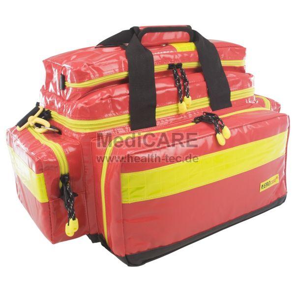 AEROcase® PRO 1R BL1 Notfall-Tasche Größe L, Material: Plan, Farbe: rot