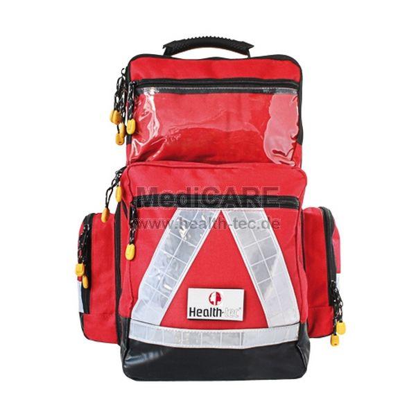 Notfallrucksack PRO Large RED Wasserabweisend und strapazierfähig