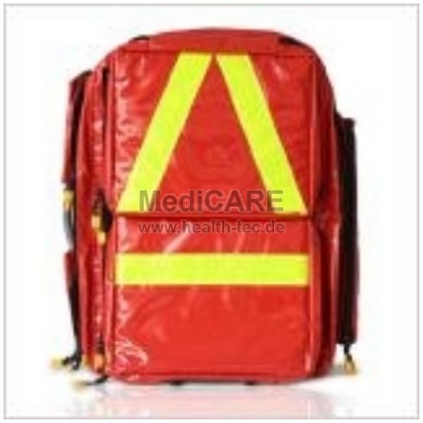 Notfallrucksack PROFI RED Material: Polyester-Nylon, Farbe: rot