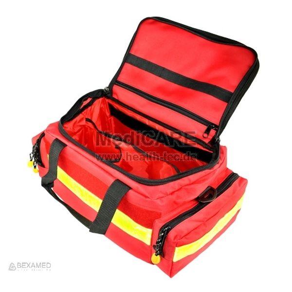 Notfalltasche YELLOW Medium Red Material: Polyester-Nylon, Farbe: rot