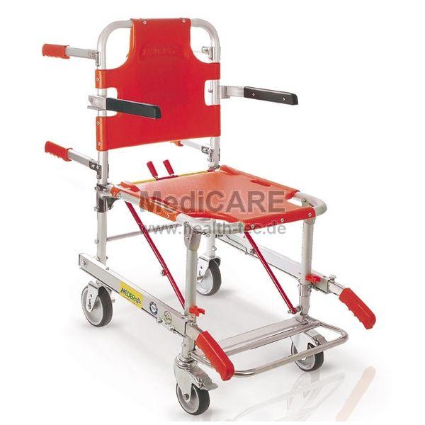 ME.BER Faltbarer Tragestuhl mit Armlehnen und Fußstütze