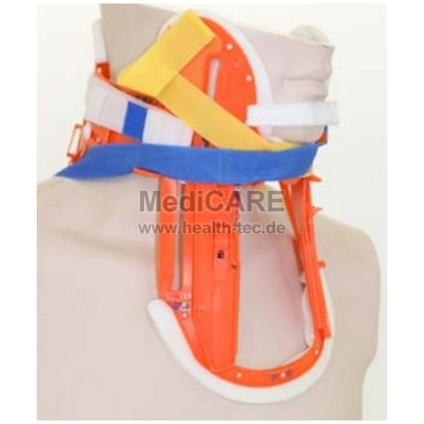 NeX Splint Cervikal-Schiene, orange (40x23x4 cm)