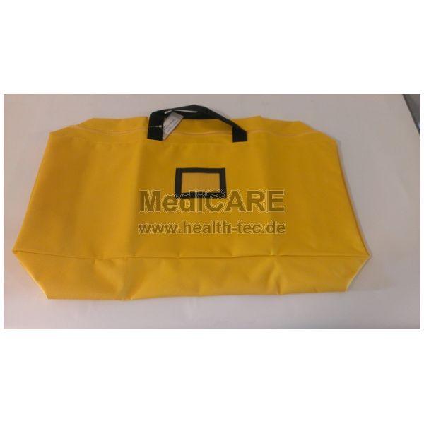 Universaltasche / 62x27x10cm Farbe: gelb/ z.B. für 6 Halskrausen