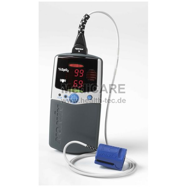 Nonin PalmSAT 2500 Handheld Pulsoximeter inkl. Softsensor, ohne Alarm