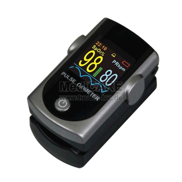 Fingerpulsoximeter MD300C316 Farbe: schwarz/grau / Multicolour