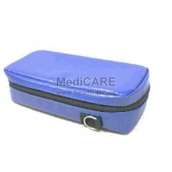 Schutztasche, Softbag für Pulsoximeter passend z.B. für Philips G3, Farbe: blau