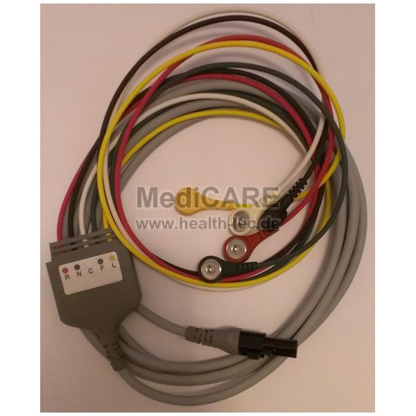 WelchAllyn EKG-Kabel 5-polig für Propaq LT