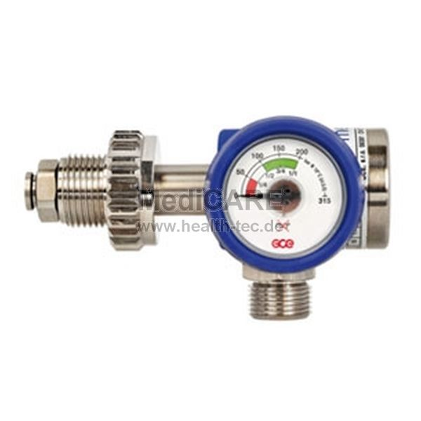 GCE Druckminderer für Druckluft MediReg 100 Air D - M20x1,5 DQC