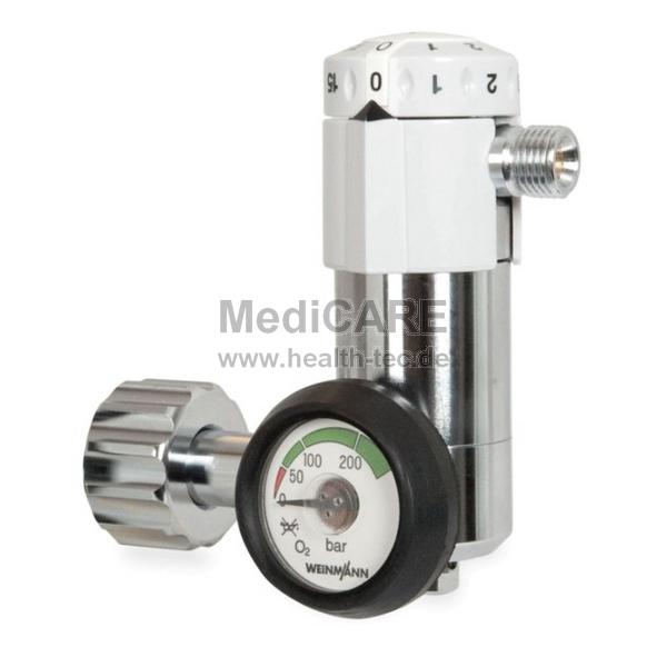 WM Druckminderer für Sauerstoff Typ: Oxyway Fast I stoßfestes Manometer