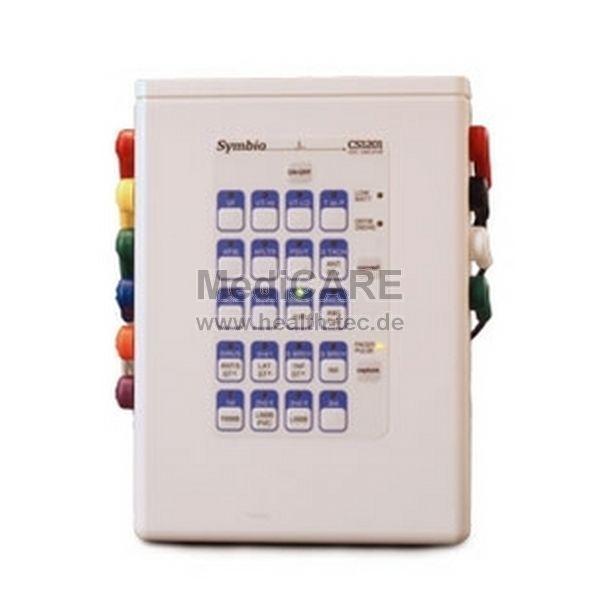 Symbio CS1201 EKG-Patientensimulator 20 Rhytmen, R2-Stecker