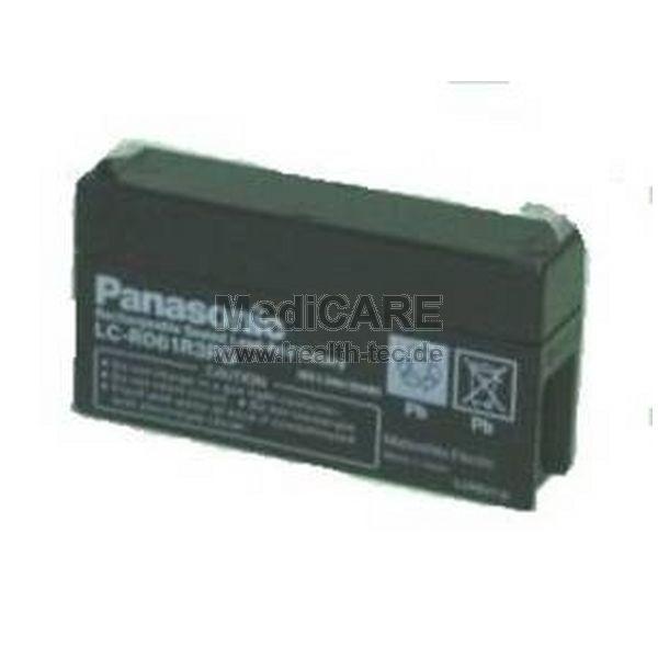 Panasonic Blei-Gel-Akku 6V/1,3 Ah für Injecotmat 2000 /Pilot A2