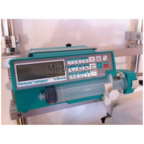 BRAUN Spritzenpumpe Gebrauchtgerät Perfusor Compact, mit neuer STK