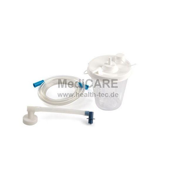 Einwegbehälter 800 ml inkl. Schlauch für Absaugpumpe LCSU3/ LCSU4, VE = 6 Stk.