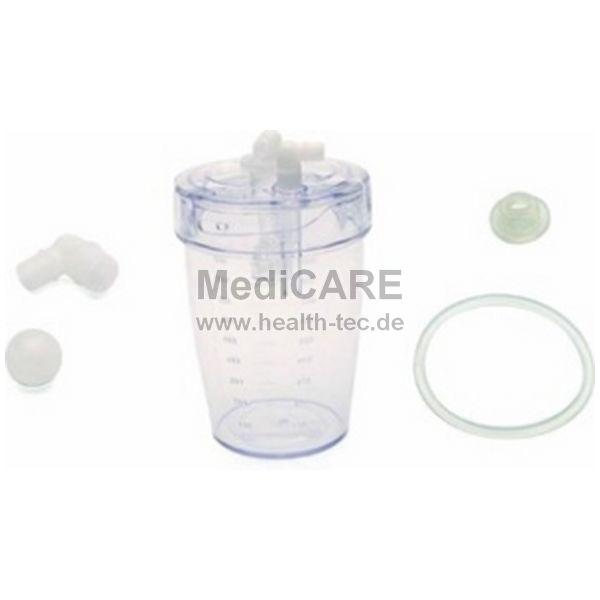 Laerdal Set-Einwegbehälter 800 ml für LCSU3, inkl. Deckel, Filter,