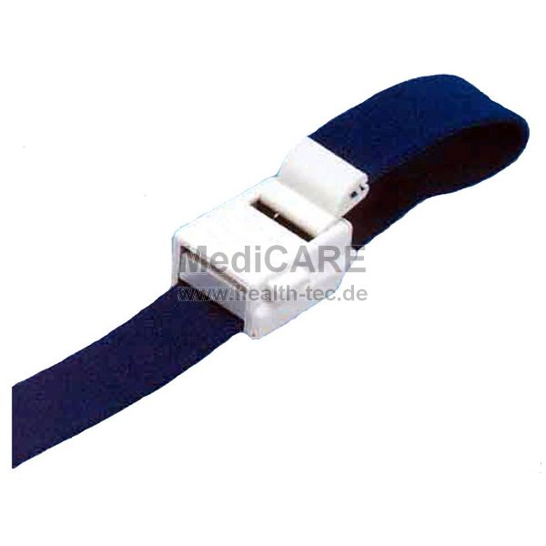 Venen-Stauband, blau, kräftiges Gewebe Modell-Rettung, Einhandbedienung