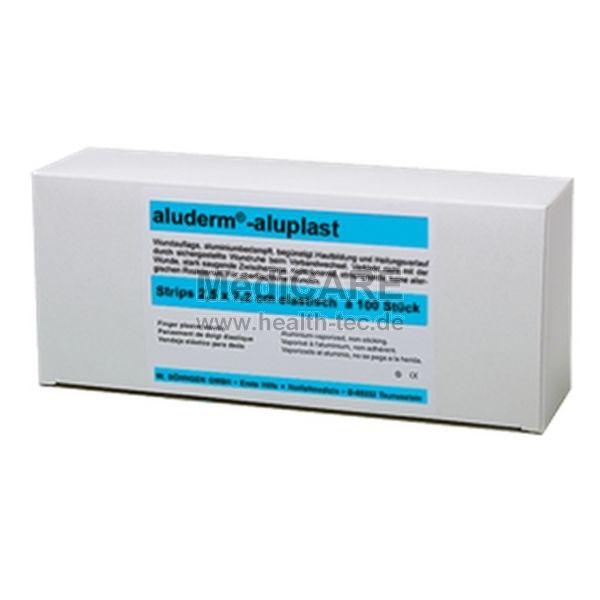aluderm®-aluplast elastisch Strips 2,5x7,2 cm Faltschachtel VE = 100 Stück