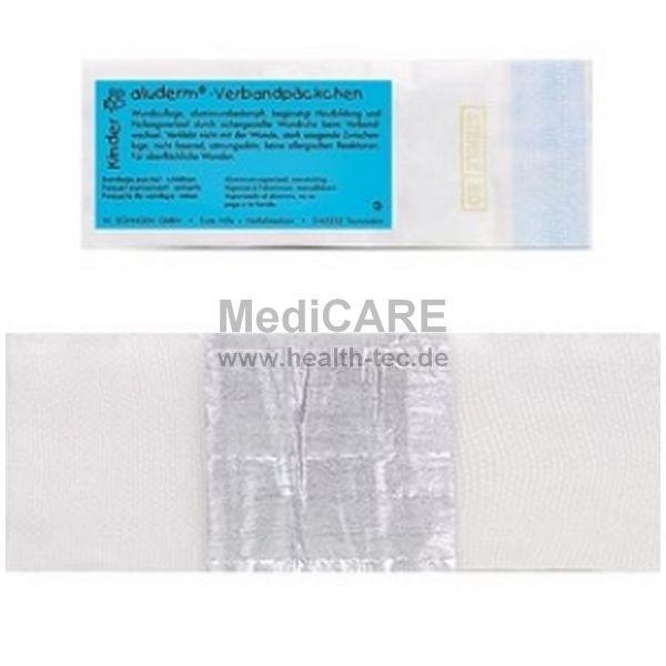 aluderm® Kinder Verbandpäckchen mittel einzeln, steril verpackt
