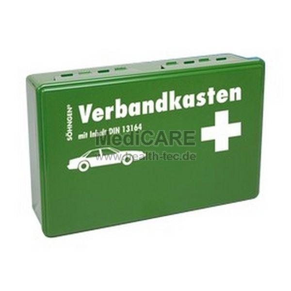 Söhngen Kfz.- Verbandkasten KU-grün, Füllung Standard DIN 13164