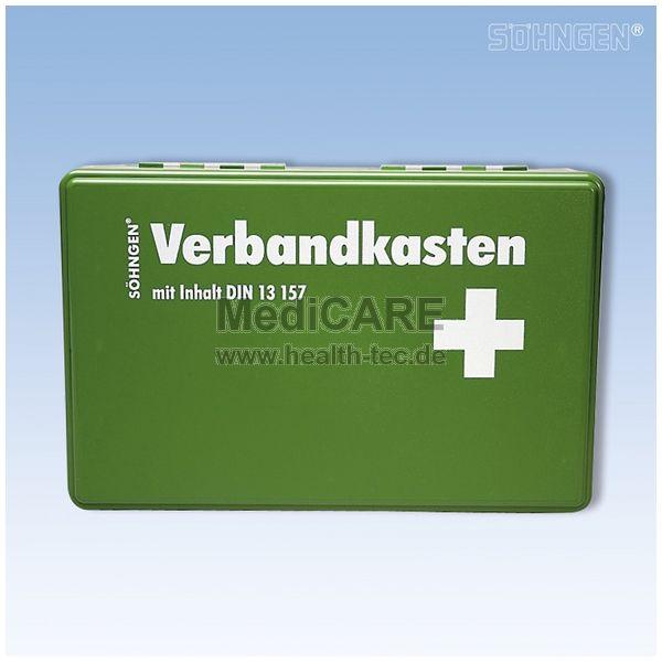Söhngen Betriebs-Verbandskasten, grün inkl. Standard-Füllung DIN 13157