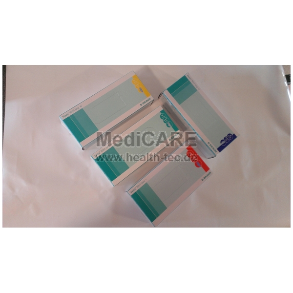 BRAUN Vasco® Nitril long, Größe XL Untersuchungs- handschuhe mit längeren Rollrand, VE=100 Stück