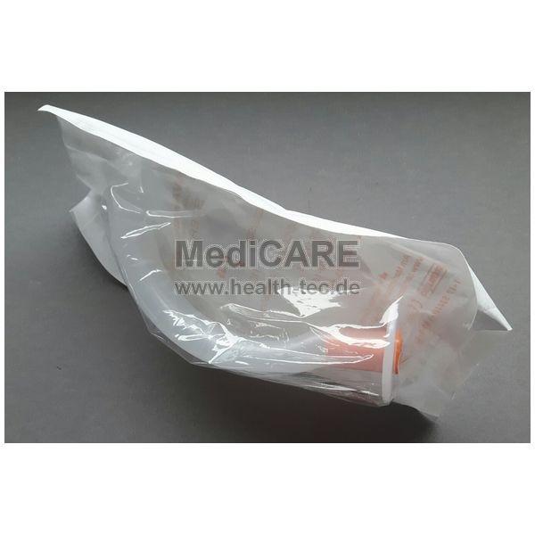 Guedel-Tubus, Gr. 5, orange, 110mm Einmalgebrauch, hygienisch verpackt