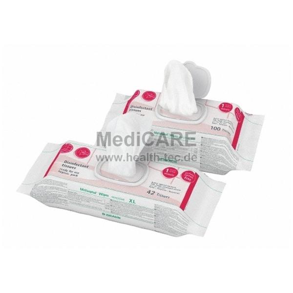 B.Braun Meliseptol® Wipes sensitive Desinfektionstücher für empfindliche Flächen