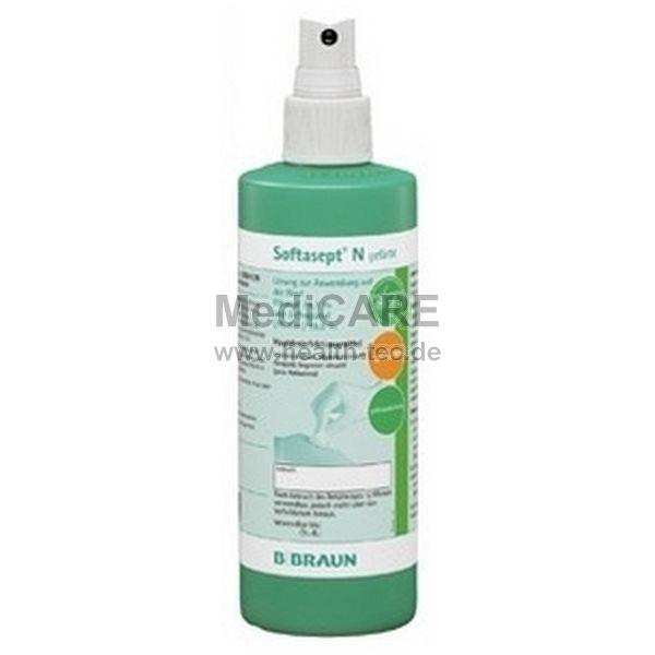 B.Braun Hautdesinfektion, farblos Softasept® N Sprühflasche, 250ml
