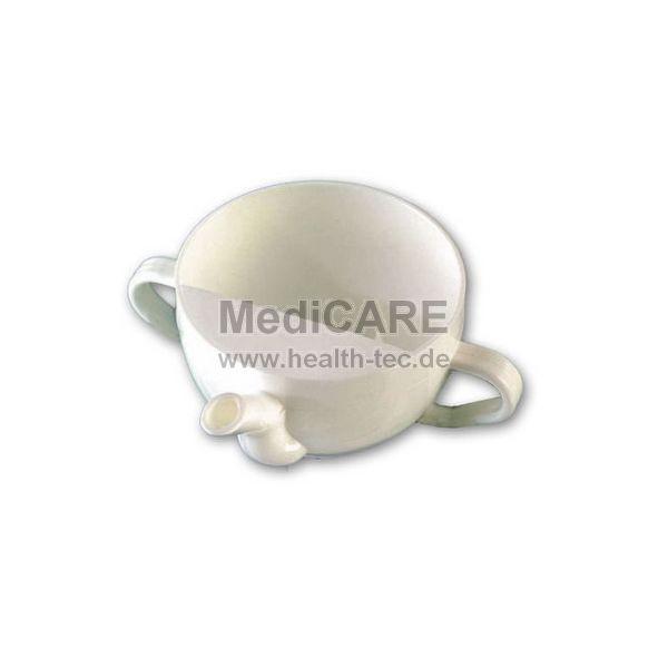 Schnabeltasse 250 ml Farbe: weiß, bruchsicher